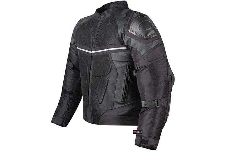 Jackets 4 Bikes Pro Leather & Mesh Motorcycle Jacket
