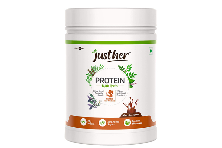 JustHer Proteins With Herbs For Women