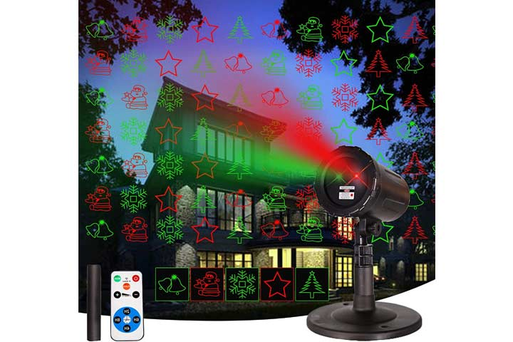 KPO Indoor and Outdoor Laser Christmas Projector
