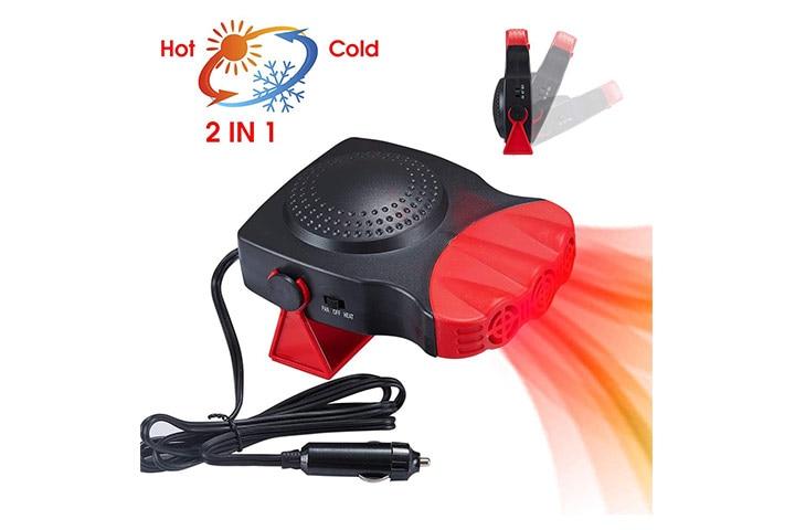 KVW Portable 2 in 1 Car Heater