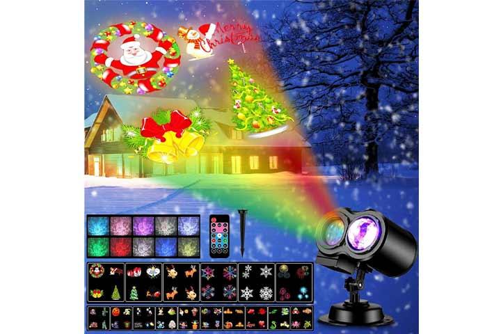 Kabcon Christmas Projector Lights