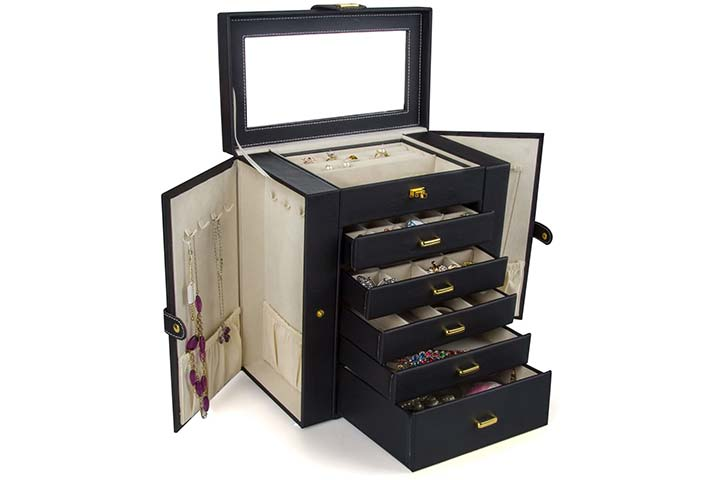 Kendal Leather Jewelry Box