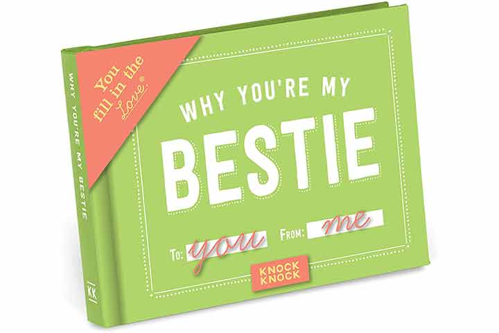 Knock Knock Why You're My Bestie Journal