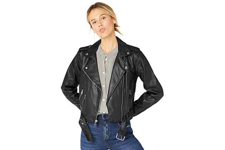 Levi's Women's Belted Motorcycle Jacket