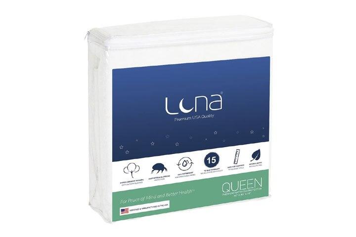 Luna Queen Size Mattress Protector
