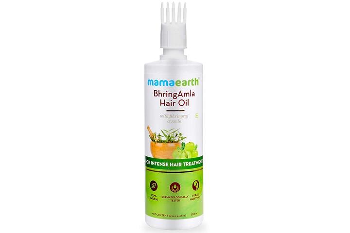 MamaearthBhringAmla Hair Oil