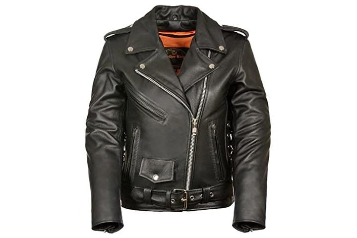 Milwaukee Ladies Leather Jacket