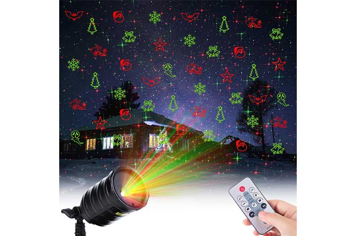 Minetom Christmas Projector Lights Outdoor Projection