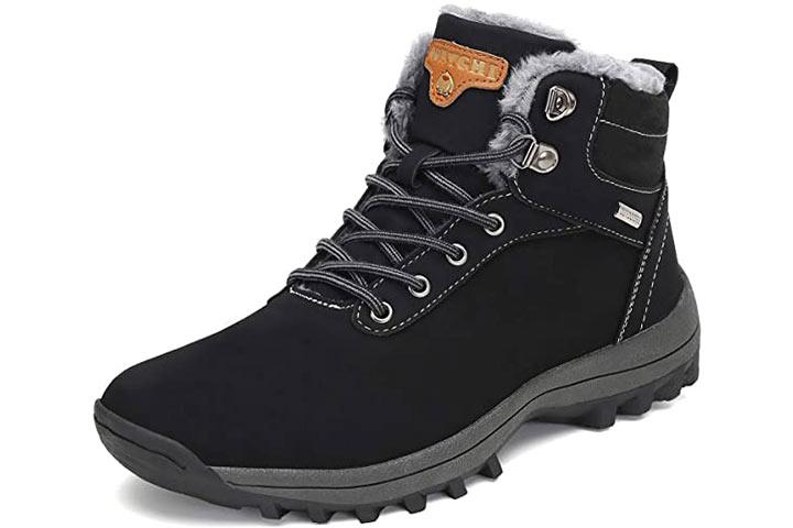 Mishansha Winter Ankle Snow Hiking Boots