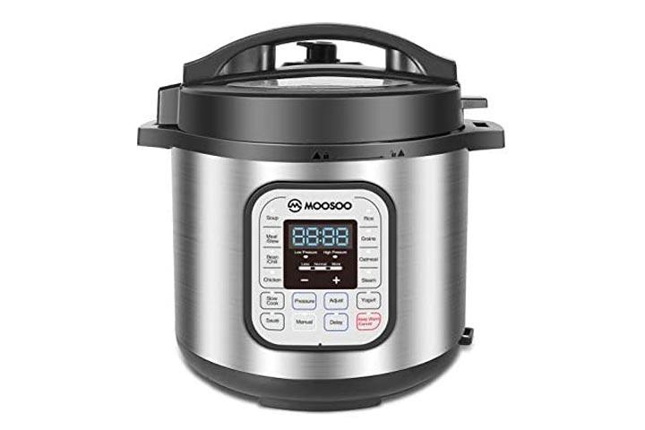 Moosoo 12-in-1 Electric Pressure Cooker