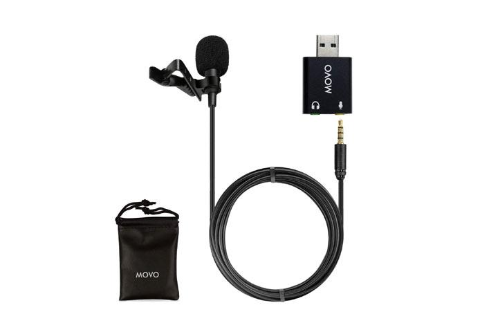 Movo M1 USB Lavalier Microphone
