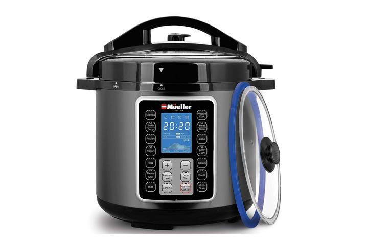Mueller 6-Quart Pressure Cooker