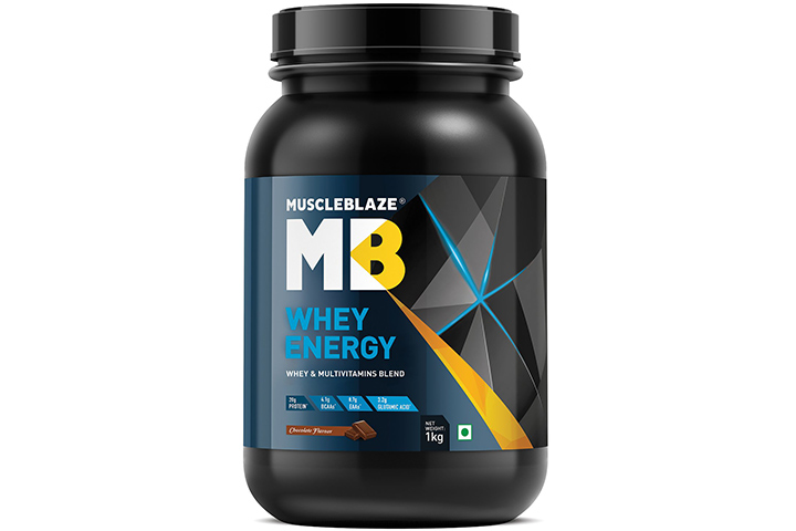 MuscleBlaze Whey Energy