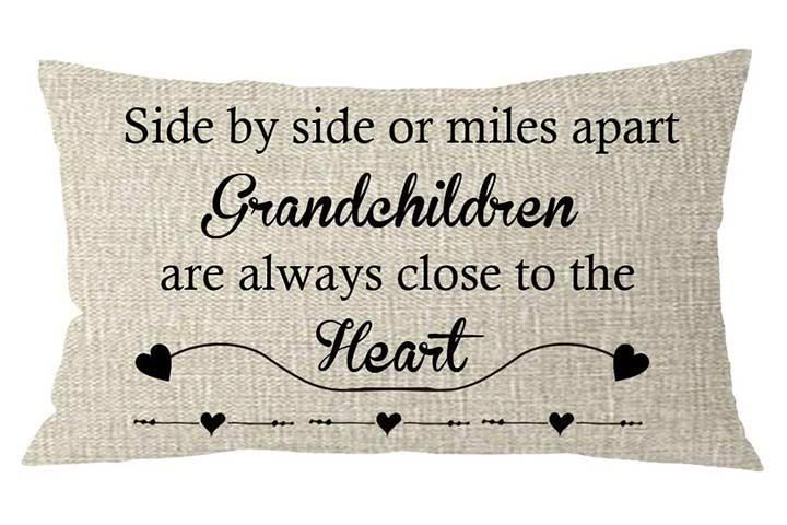 NIDITW Grandparents Throw Pillow Case