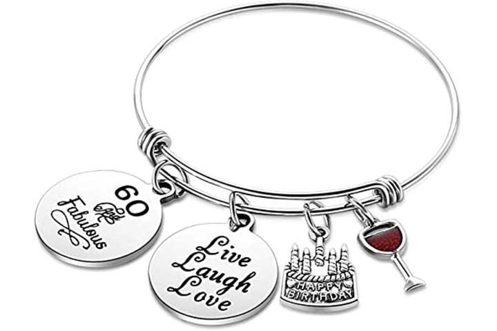 Nimteve Expandable Birthday Bracelet for Women