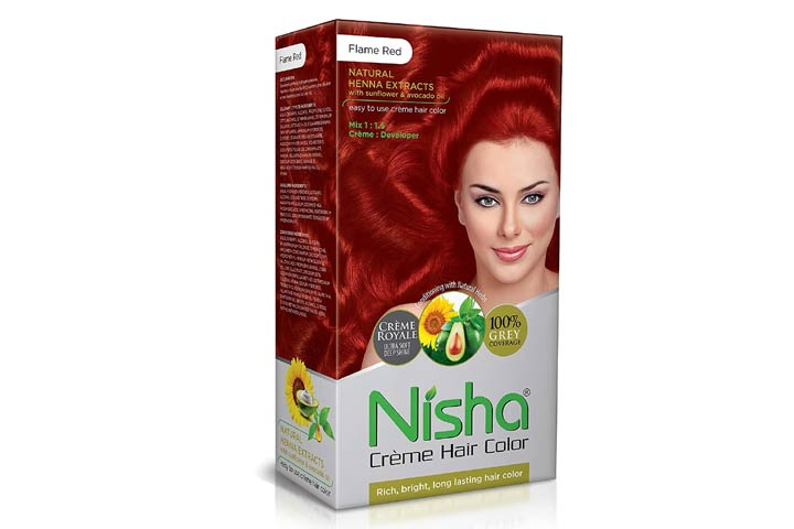 Nisha Cream Hair Color