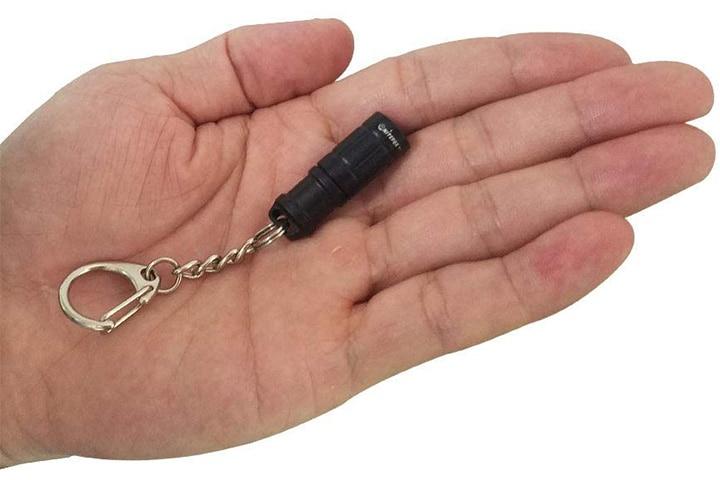 Nitefox Super Tiny Mini Small Keychain Flashlight