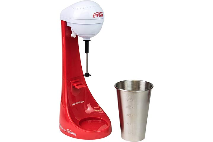 Nostalgia Coca-Cola Limited Edition 2-Speed Milkshake Maker
