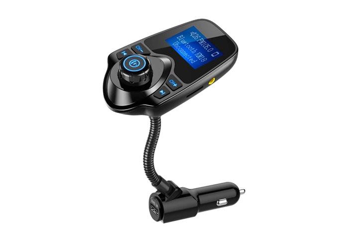 Nulaxy Wireless In-Car Bluetooth FM Transmitter
