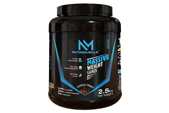 NutriMuscle Massive Weight Gainer