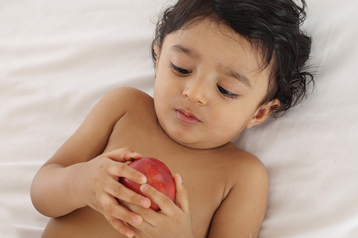Nutritious foods for your month old baby
