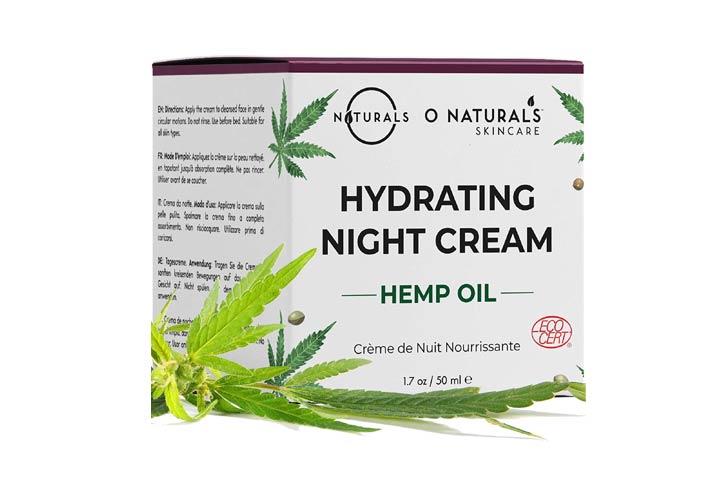 O Naturals Hydrating Hemp Night Cream