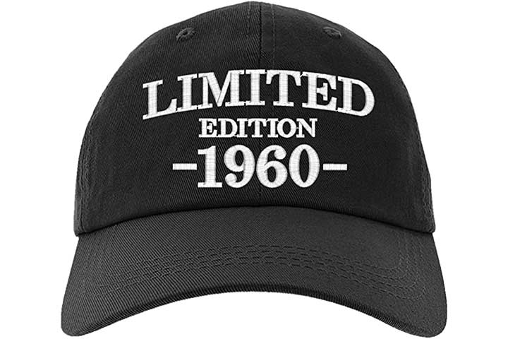 Owndis 60th Birthday Cap