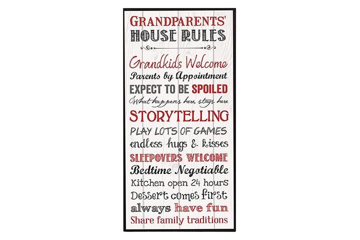 P. Graham Dunn Grandparents Wall Art