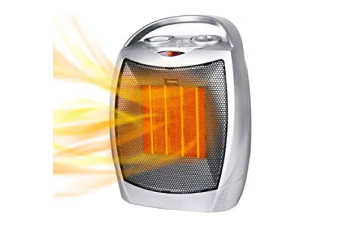 Portable Electric Space Heater by Brightown Store