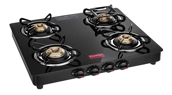 Prestige Marvel Glass Top Gas Stove