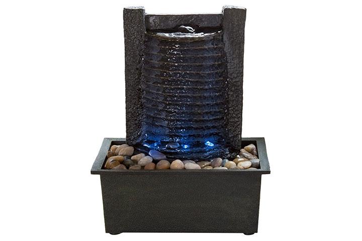 Pure Garden Indoor Water Fountain
