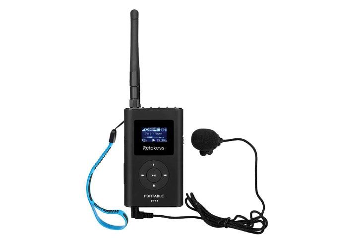 Retekess FT11 Portable FM Transmitter