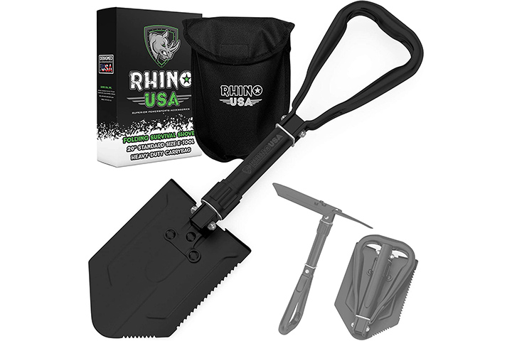 Rhino USA Folding Shovel