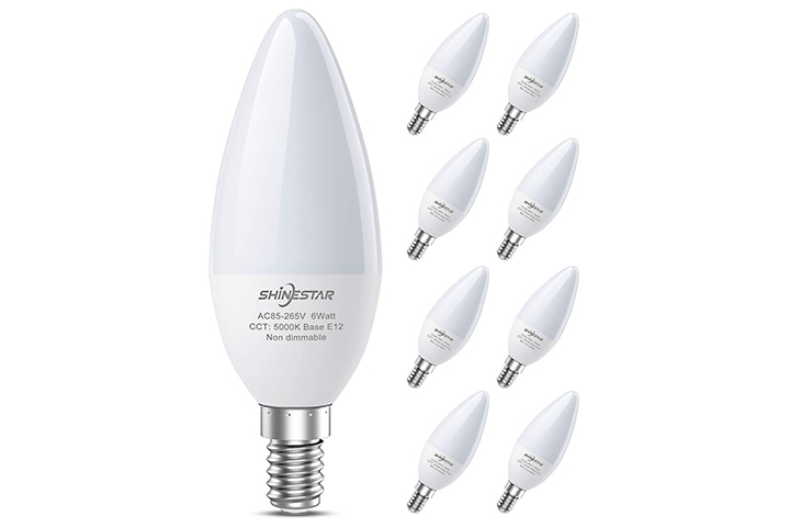 SHINESTAR LED Candelabra Bulb