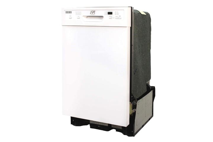 SPT SD-9254W 18-inch Built-in Dishwasher wHeated Drying