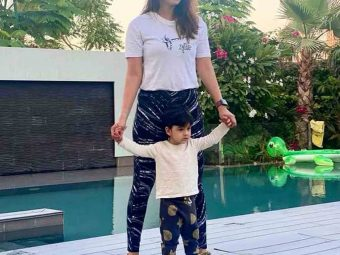 Sania Mirza Shares Picture With Her Adorable Son Izhaan Mirza Malik And Proves That Twinning Is Winning