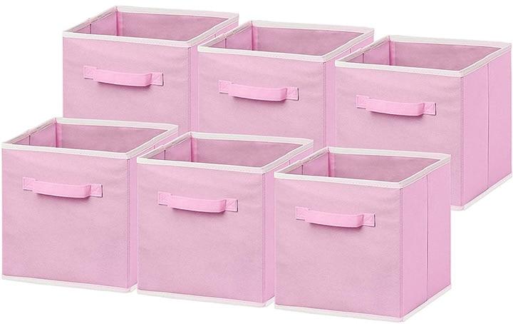 Simple Houseware Foldable Cloth Storage Cube