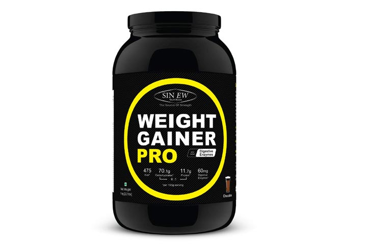 Sinew Nutrition Weight Gainer Pro With Digestive Enzymes