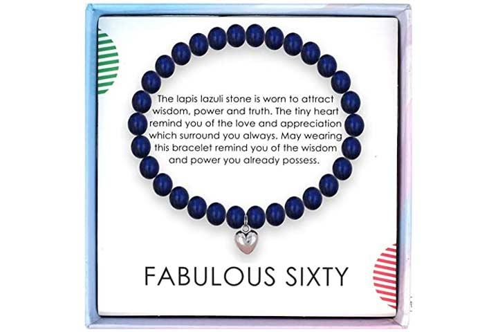 Solinfor Lapis Lazuli Beads Bracelet