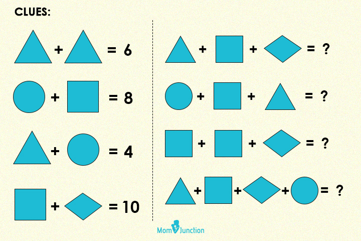 Solve the additions