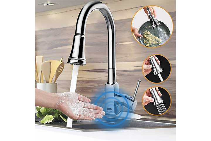 Soosi Touchless Kitchen Faucet