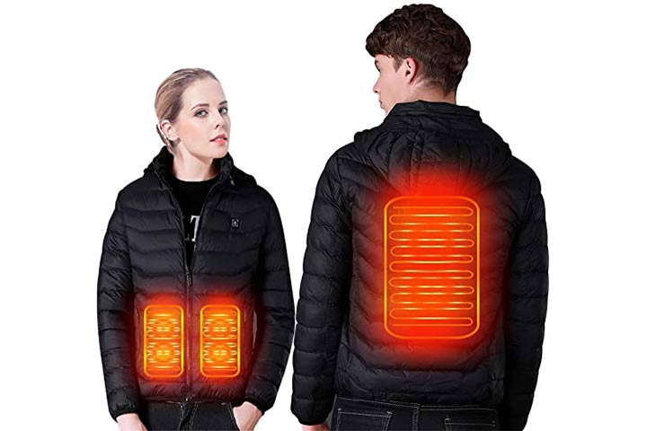 Suptempo Men's And Women's Heated Jacket