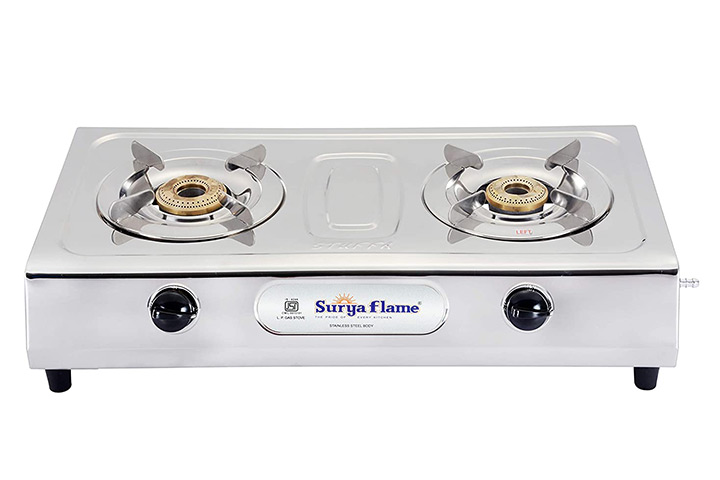 Surya Flame 2B Ultimate Gas Stove