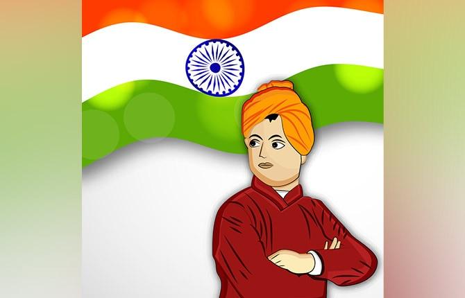 Swami Vivekananda apni bhasha par garv Story
