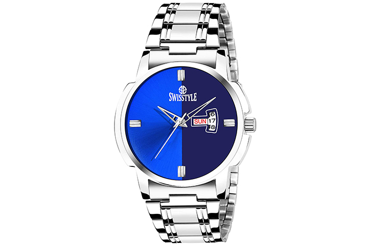 Swisstyle Analogue-Digital Blue Dial Men's Watch