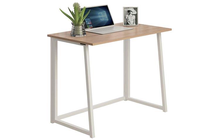 THKKY No-Assembly Folding Desk