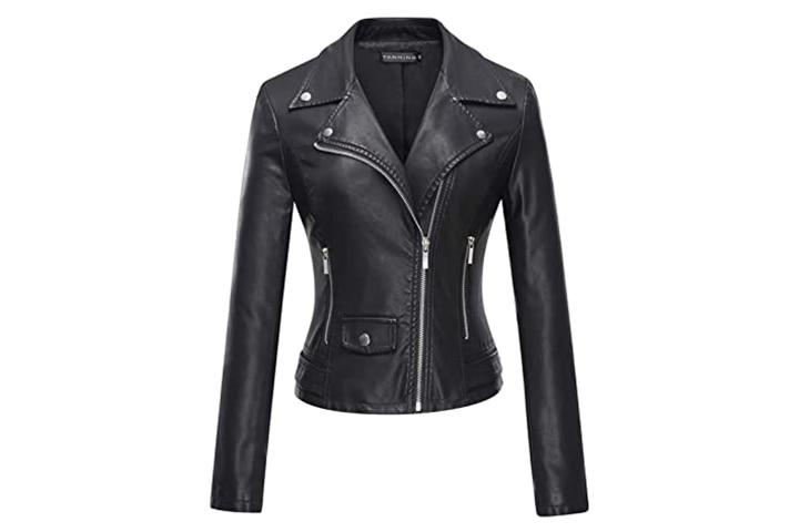 Tanming Moto Biker Short Jacket