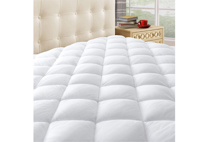 Taupiri King Quilted Mattress Pad Cover