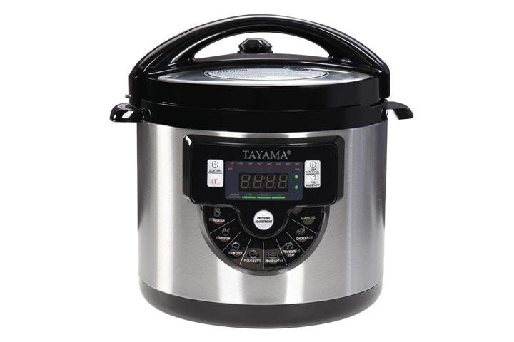 Tayama6-quart Multi-function Pressure Cooker