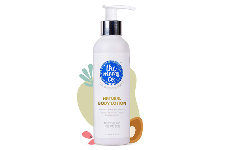 The Moms Co. Natural Body Lotion